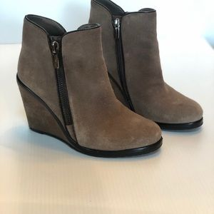 Vince Camuto Suede & Leather Trim Booties